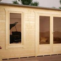Leicester Heavy Log Cabin