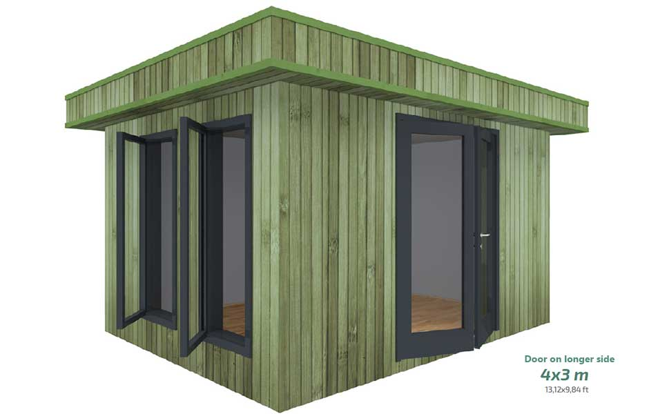 CHESTER 4 X 3m (door on longer side)